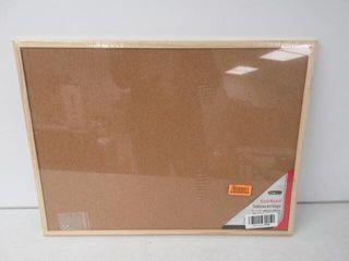As Is  Office Works Small Cork Bulletin Board