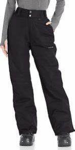 Arctix Women s 4Xl Insulated Snow Pants  Black  4X