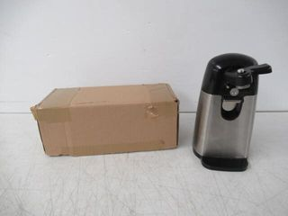 Used  Basics Electric Can Opener  Black