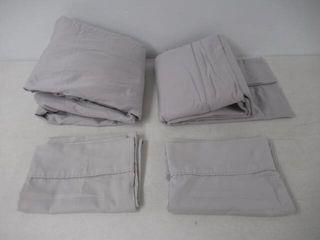 Used  100  Cotton 4 Piece Mix Match Pillowcases