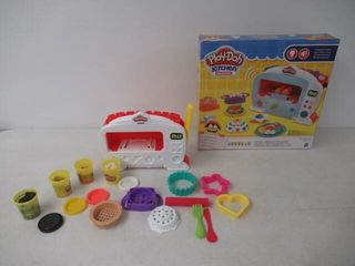 Used  Play Doh Kitchen Creations Magical Oven