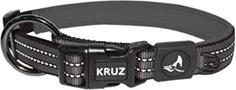 KRUZ PET KZV006 05S Reflective Dog Collar for