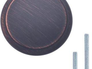 Basics Modern Top Ring Cabinet Knob  1 16 inch