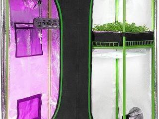 VIVOSUN 2 in 1 48x36x72 Mylar Reflective Grow Tent