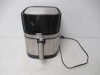 Used  Air Fryer  Elegant life 5 8 Quart 1700W