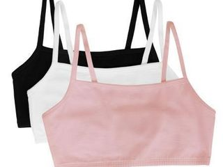 3 Pk Fruit of The loom Women s 32 Strappy Sports