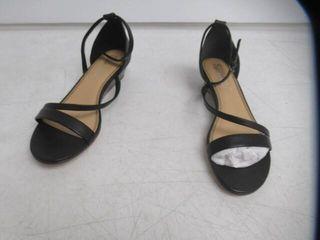 Splendid Women s 9 low Wedge Heel Strappy Sandals