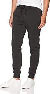WT02 Mens MD Basic Jogger Fleece Pants  Heather