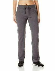 Hanes Women s lG French Terry Pant  Charcoal