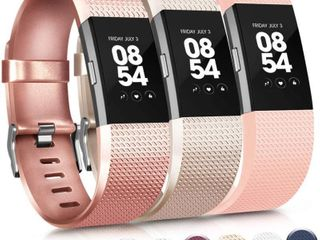 Vancle Replacement Bands Compatible for Fitbit