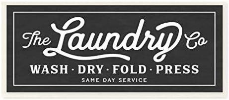 The Stupell Home Decor Collection Vintage laundry