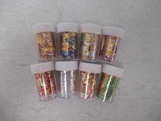 Gold Nail Art Supplies Sticker Foils 3D Mesh