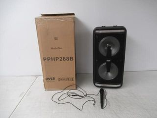 As Is  Portable Bluetooth PA Speaker System