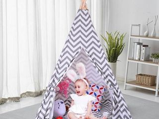Kids Teepee Tent for Boys  Children with Mat