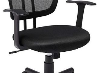 Mid Back Desk Office Chair with Armrests   Mesh