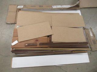 As Is  Mid Century Modern Walnut Brown Dresser