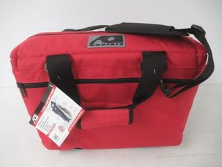 AO Coolers AO24RD Canvas Soft Cooler with