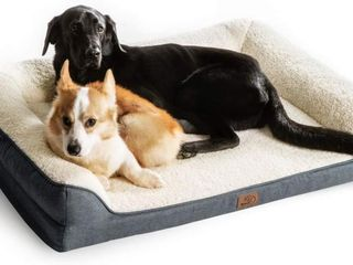 Bedsure large Orthopedic Dog Sofa Beds Memory Foam