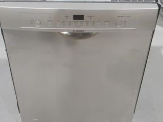 As Is  Bosch 24  Ascenta Dishwasher with Recessed