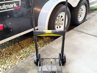 Folding Wheeled Hand Truck with Telescoping Handle