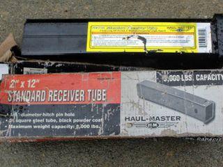 Haul Master 2  x 12  Standard Hitch Receiver Tube 5000 lB Capacity