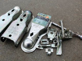 3  Zink Coupler Parts and assorted Hardware