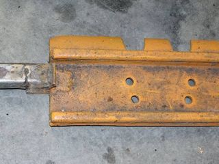 Handmade 22  Steel Plate with 10  Hitch Receiver