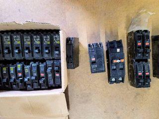Box Full of Circuit Breakers