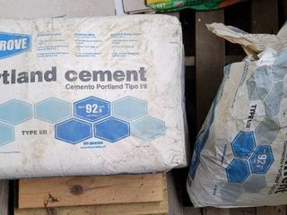 2 33 Bags of Portland Cement 92 6lb bags