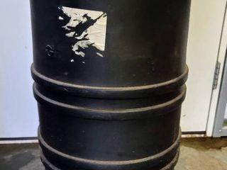 15 Gallon Black Hard Plastic Drum Tank Container