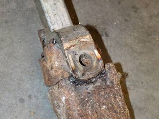 Tractor Truck Hitch Welded Blacksmith Beater Homemade Tool for the farm