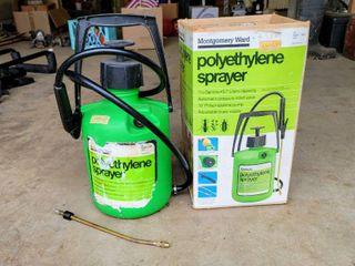 Polyethylene Sprayer 1 1 2 Gallons with Adjustable Brass Nozzle