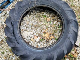 Old 47  Diam Tractor Tire   ready for your DIY ideas