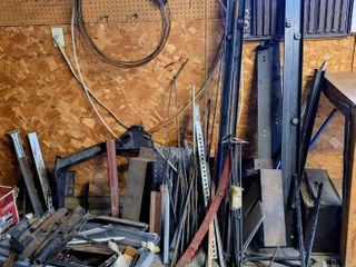 Huge lot with a Variety of Different Types of Metals   Materials   Metalworker Artist Creatives