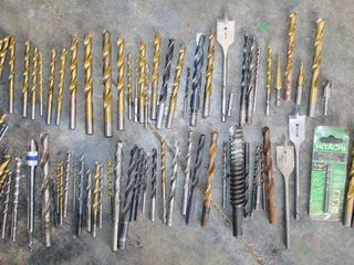 OVER 50 Assorted Drill Bits