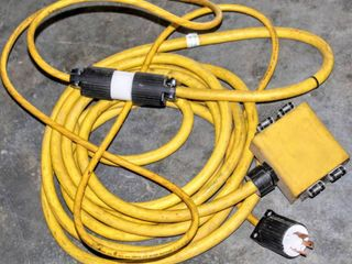 Royal Sovereign Water Resistant Generator Cords  Plus Generator 4 Outlet Cord Extension