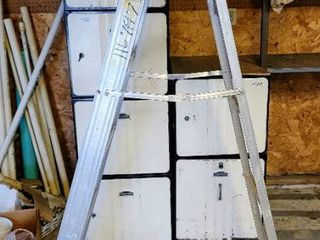WERNER 6 Ft Aluminum ladder