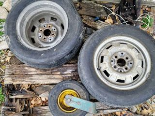 3  Old Tires