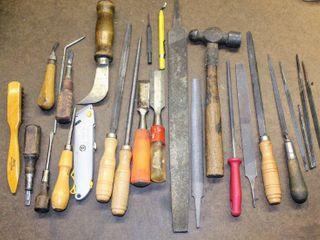 large lot of Hand Tools   Rasps  Files   more