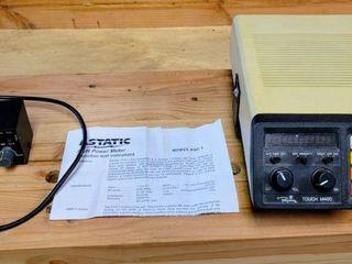 Vintage Regency Touch M400 Scanner   ASTATIC PDC1 SWR Power Field Strength Test Meter CB Ham Radio