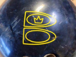 Brunswick Zone Blue Bowling Ball