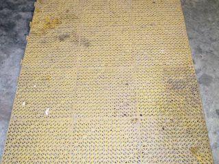 3  x 6   approx  Interlocking Rubber Workshop Floor Mat