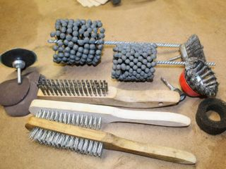 Buff  Grind  Polish and Sand Tools and Attachments  4  and 3  Attachments