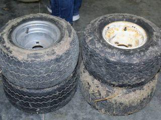 4  Golf Cart Tires