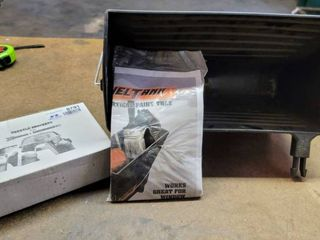 little Giant ladder Systems   Trestle Brackets   Fuel Tank Paint Tray Attachments   Both are new and unused