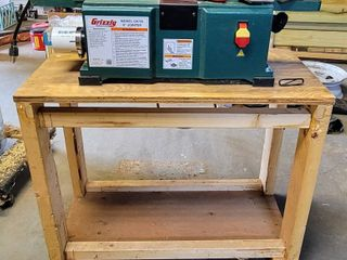 Grizzly Industrial 6  x 28  Benchtop Jointer G0725