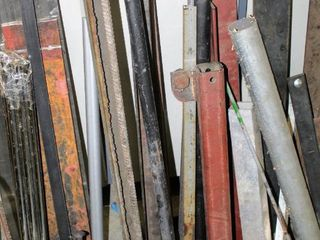 Variety of Scrap Metal Tubes  Rods  Corner Pieces  Plates so much