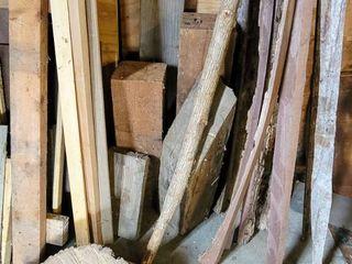 lot of Scrap Wood