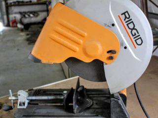 RIDGID 14 in  Abrasive Cut Off Machine