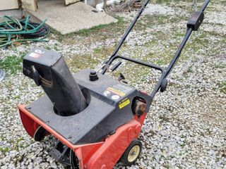 MTD Products Snowblower with Electric Start
